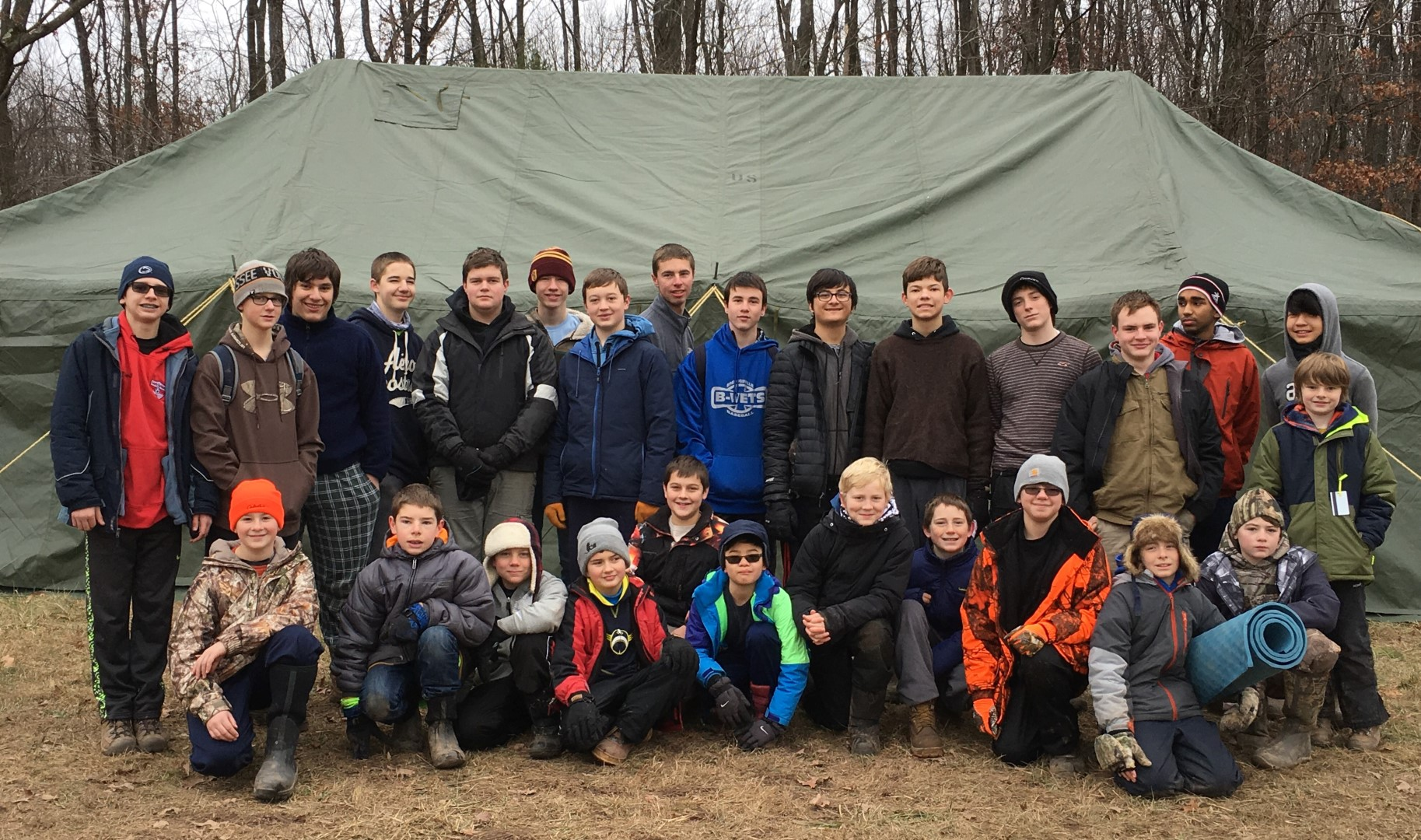 Troop 72 at Snowbound 2016